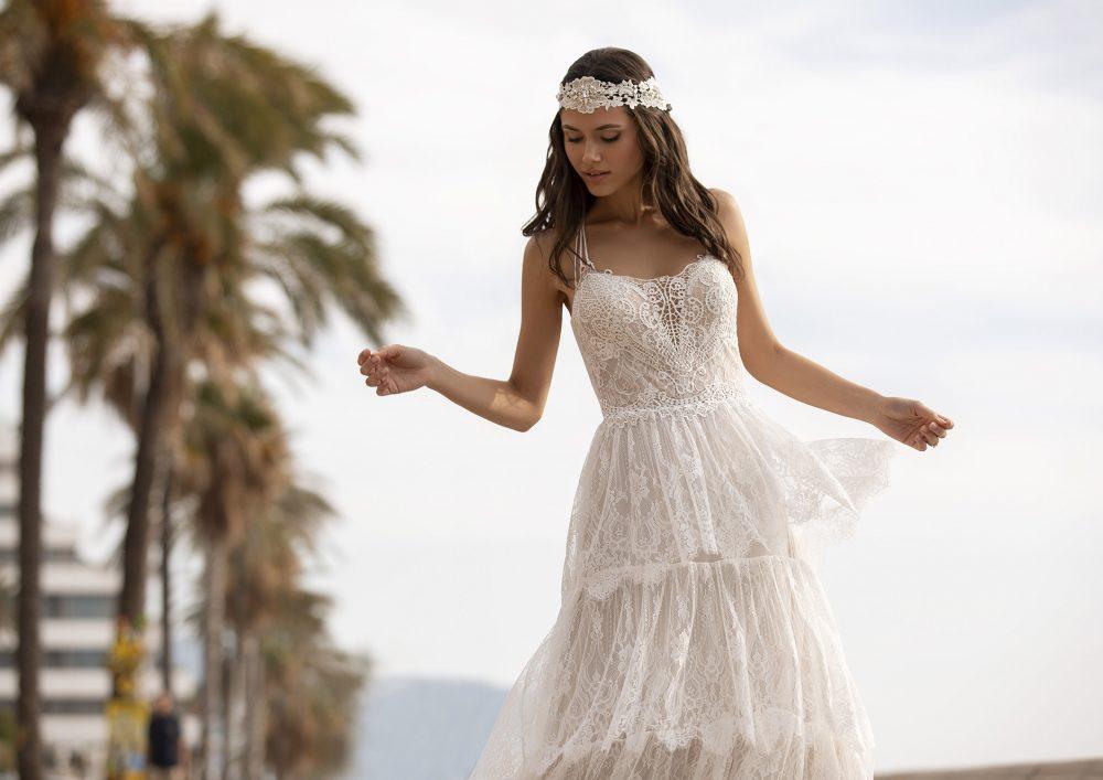 Mariages: abito da sposa Pronovias 2021 a Vicenza, Verona, Padova, Veneto GRAHAME