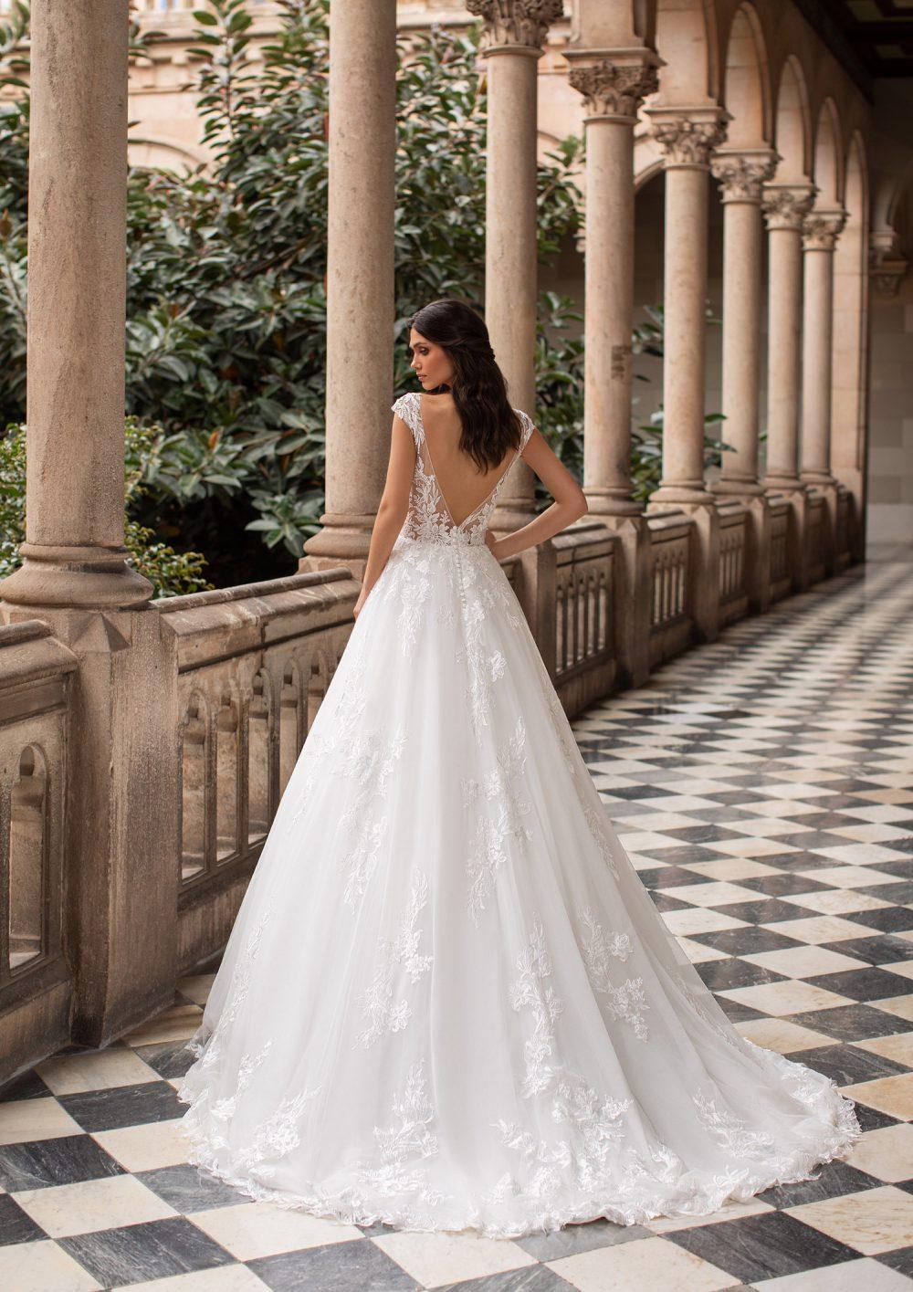 Mariages: abito da sposa Pronovias 2021 a Vicenza, Verona, Padova, Veneto GRIFFITH