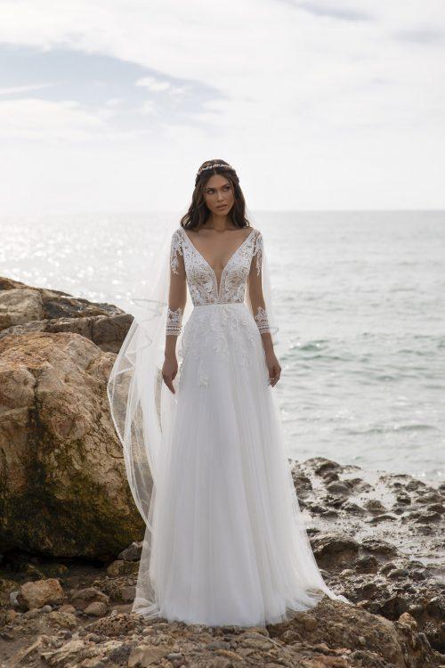 Mariages: abito da sposa Pronovias 2021 a Vicenza, Verona, Padova, Veneto MILLER