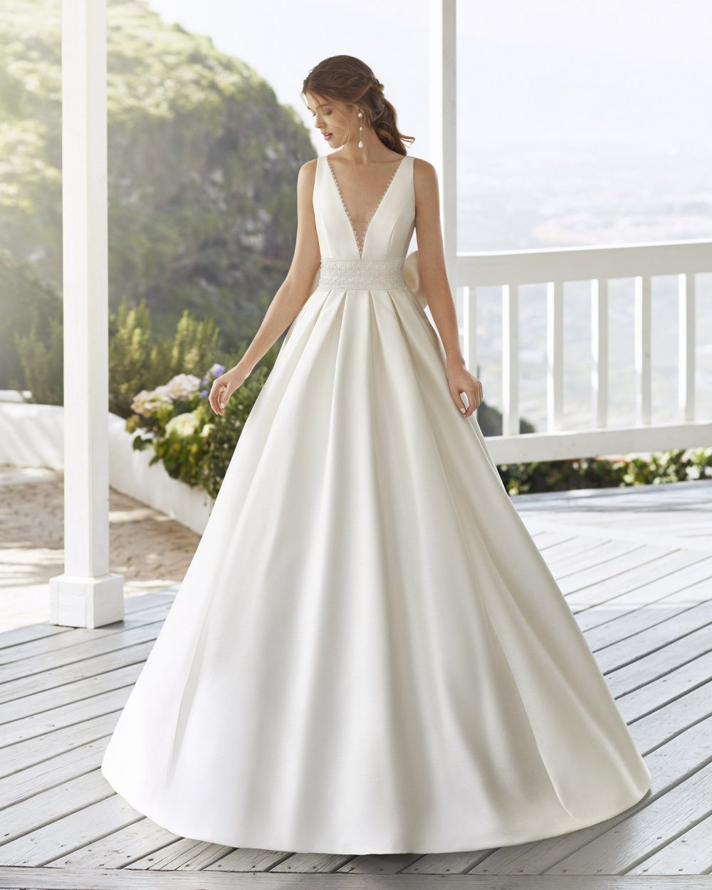 Mariages: abito da sposa Rosa Clarà 2021 a Vicenza, Verona, Padova, Veneto 4A1E1 CABAK