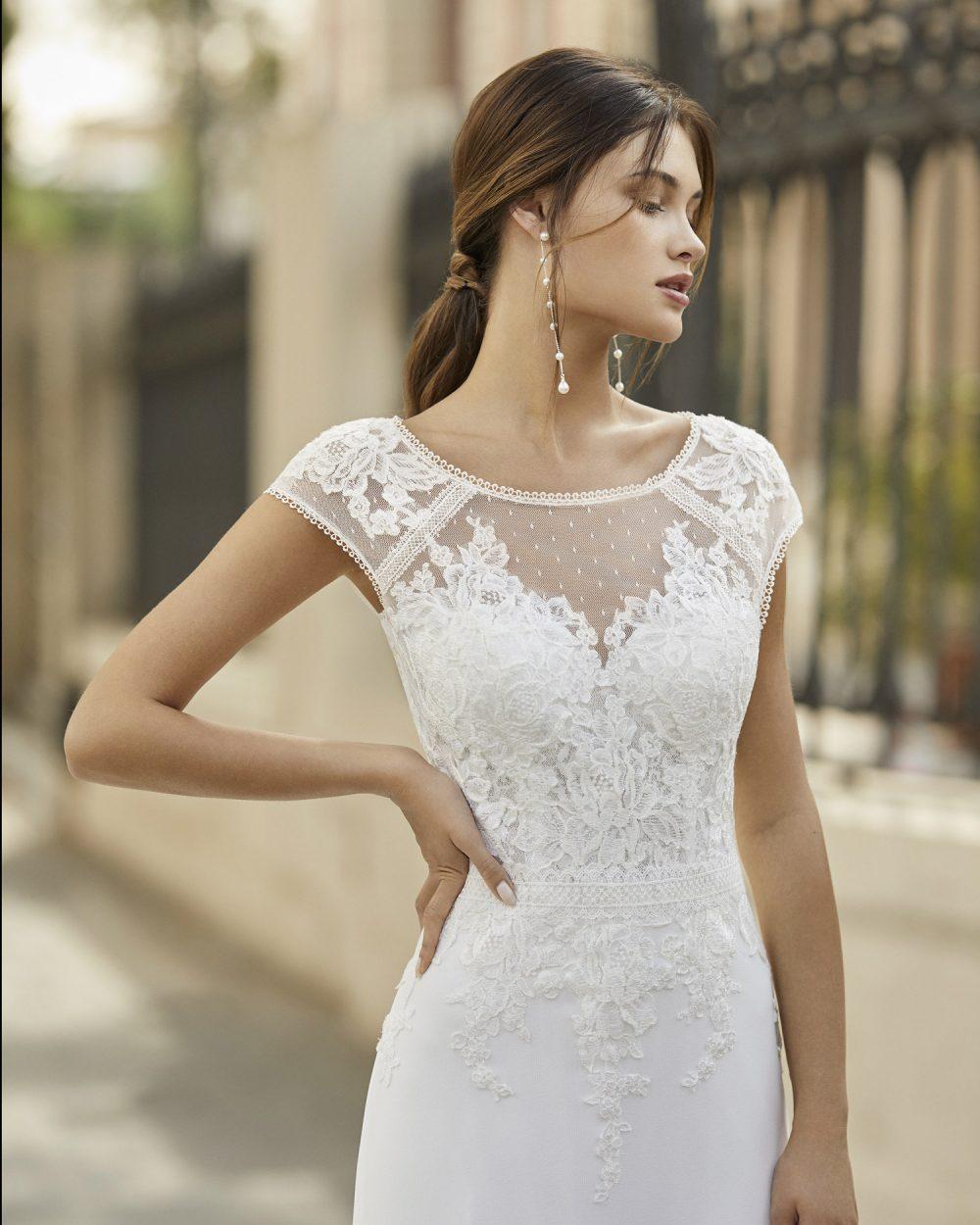 Mariages: abito da sposa Rosa Clarà 2021 a Vicenza, Verona, Padova, Veneto 5A120 TAROT
