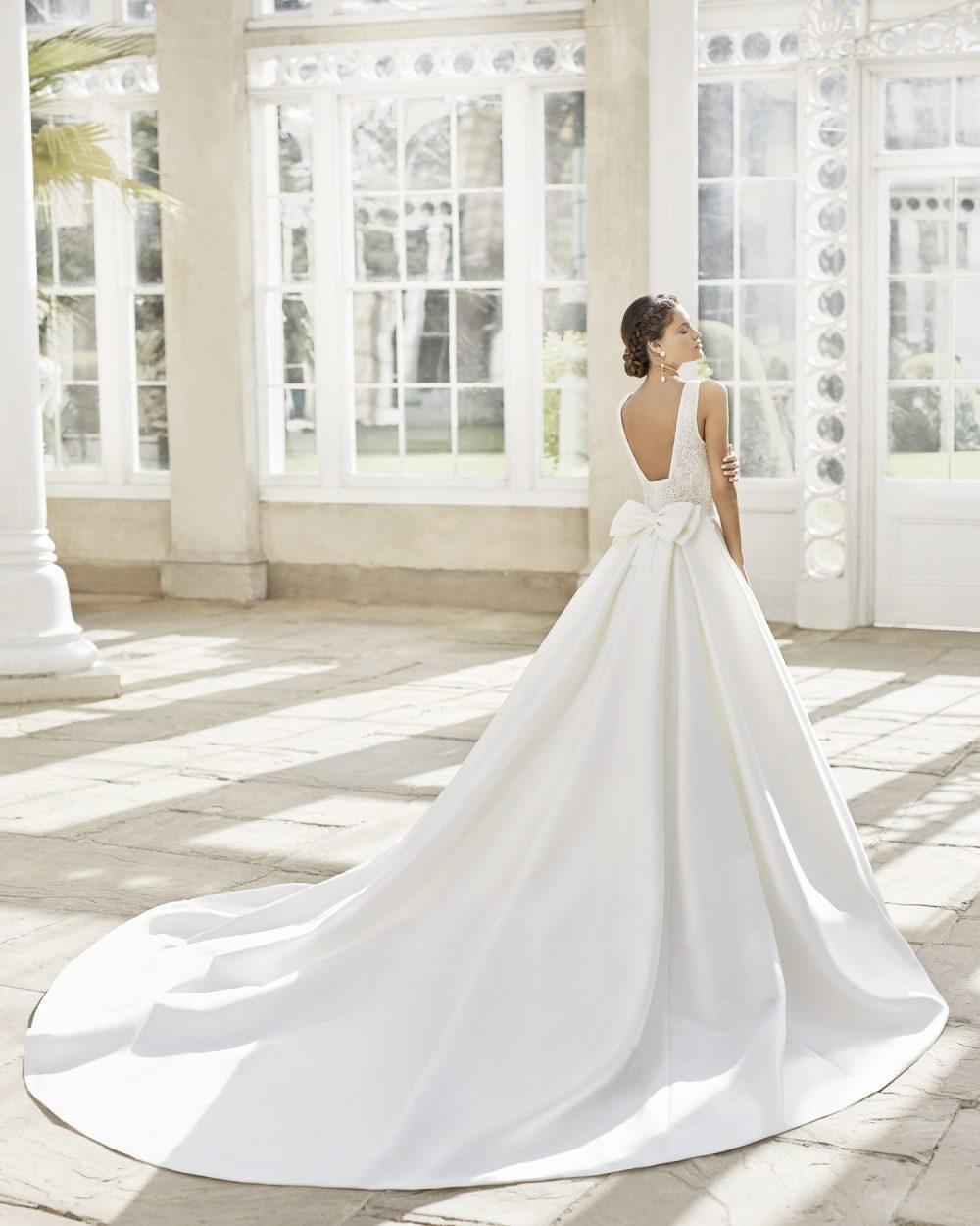 Mariages: abito da sposa Rosa Clarà 2021 a Vicenza, Verona, Padova, Veneto 5A173 TOM