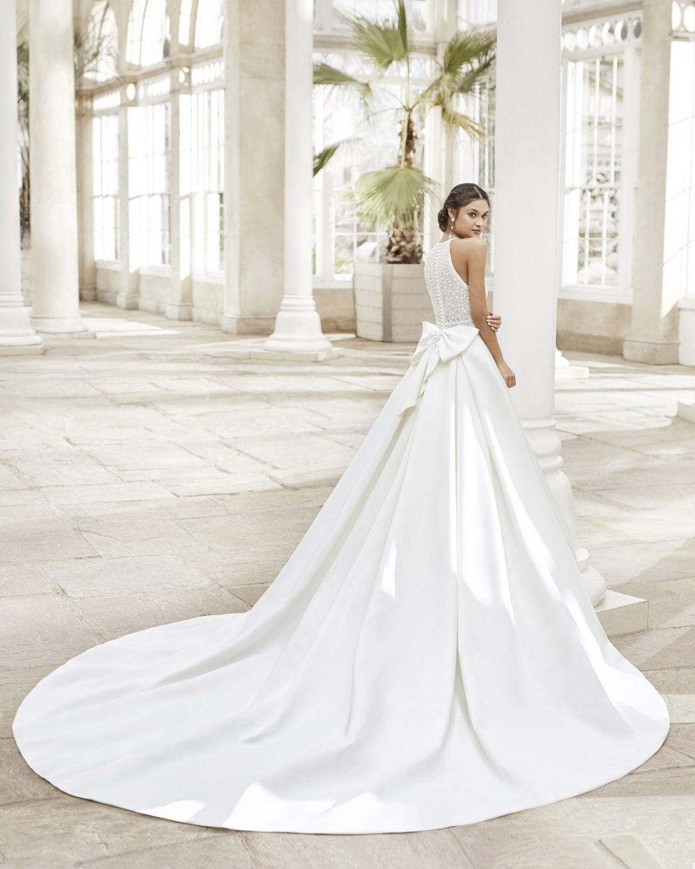Mariages: abito da sposa Rosa Clarà 2021 a Vicenza, Verona, Padova, Veneto 5A178 TYSAR