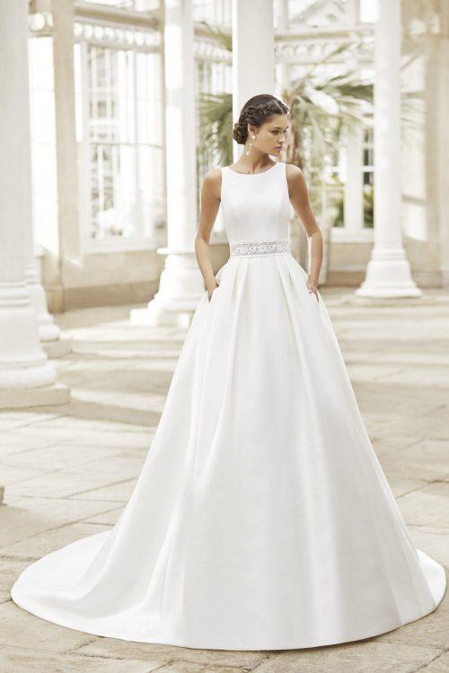 Mariages: abito da sposa Rosa Clarà 2021 a Vicenza, Verona, Padova, Veneto 5A181 TRISTAN
