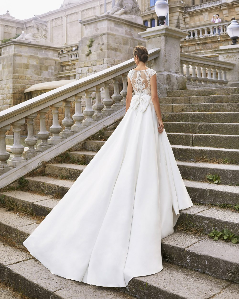 Mariages: abito da sposa Rosa Clarà 2021 a Vicenza, Verona, Padova, Veneto 5S168 YUSEF