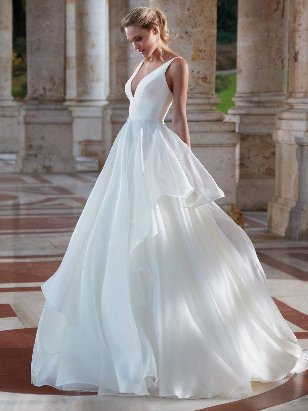 Mariages: abito da sposa Nicole 2021 a Vicenza, Verona, Padova, Veneto NI12138