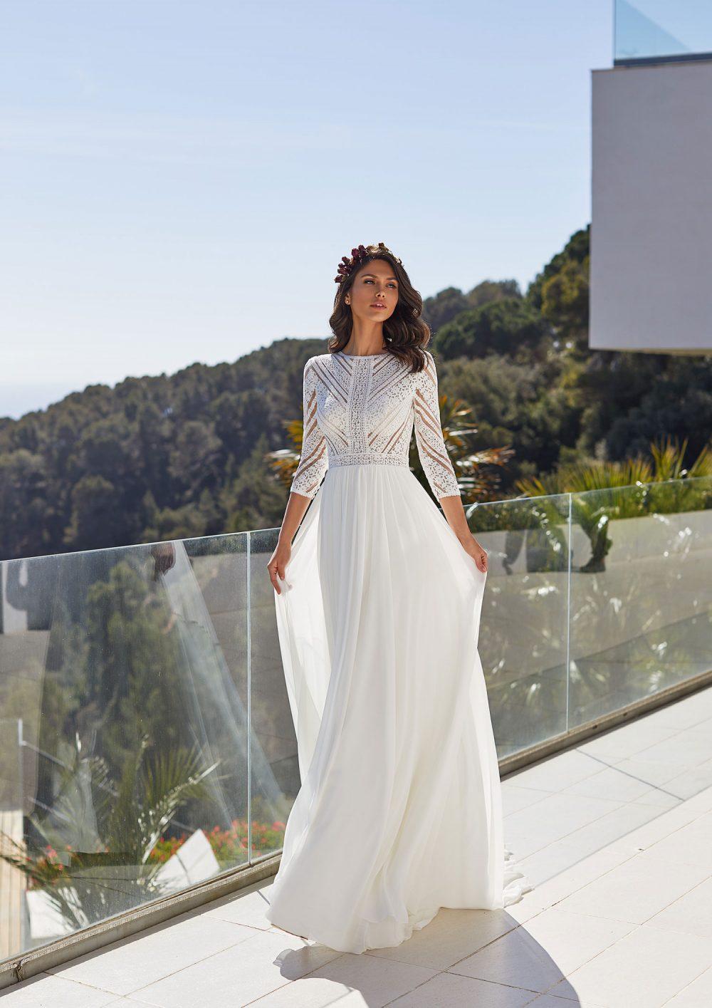 Mariages: abito da sposa Pronovias 2021 a Vicenza, Verona, Padova, Veneto BEA