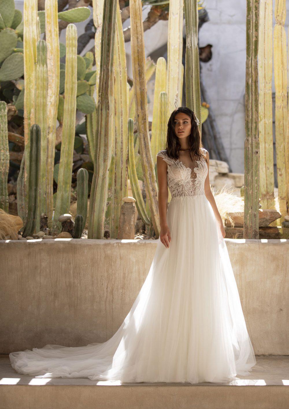 Mariages: abito da sposa Pronovias 2021 a Vicenza, Verona, Padova, Veneto MIRREN