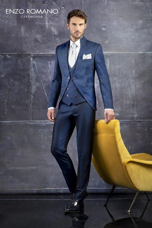Abito vestito da sposo Enzo Romano 2021 a Vicenza 5398