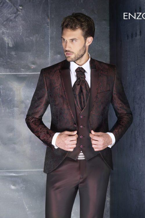 Abito vestito da sposo Enzo Romano 2021 a Vicenza 5614