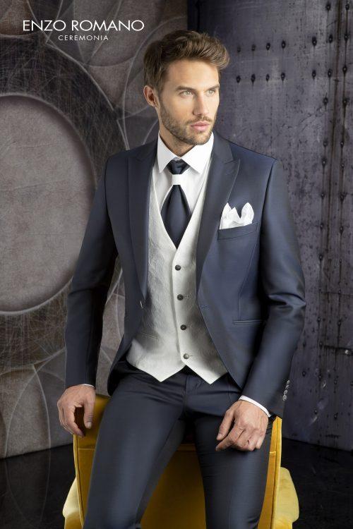 Abito vestito da sposo Enzo Romano 2021 a Vicenza 6020