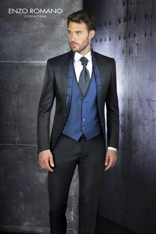 Abito vestito da sposo Enzo Romano 2021 a Vicenza 6188
