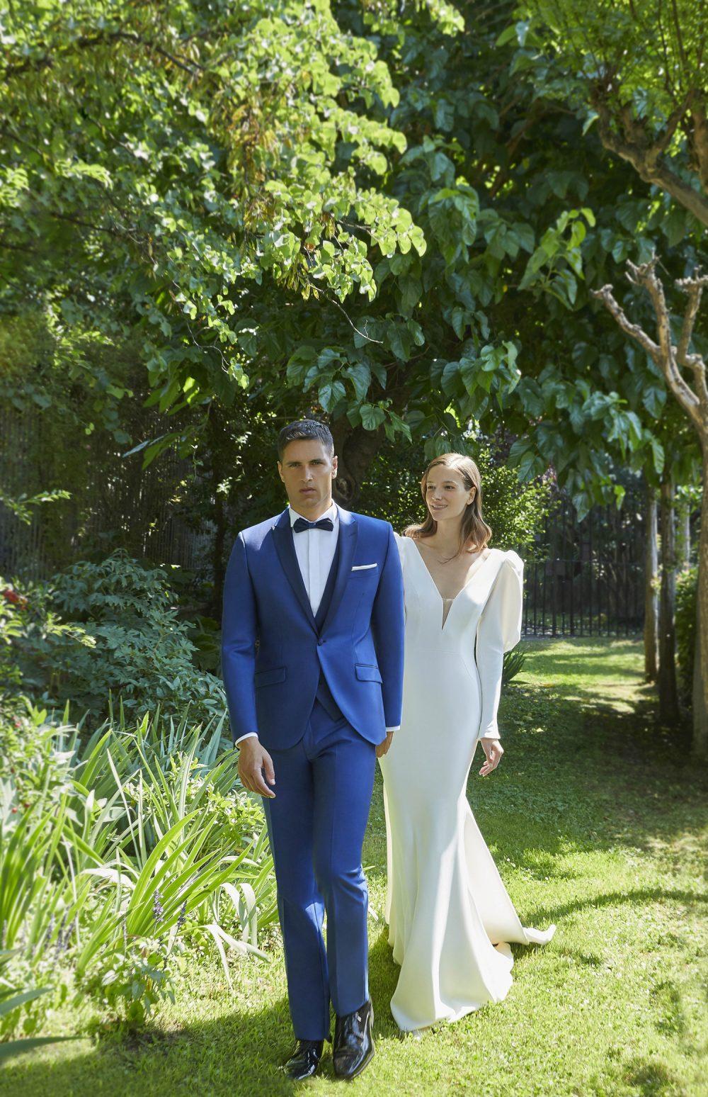 Abito vestito da sposo Thomas Pina 2021 a Vicenza