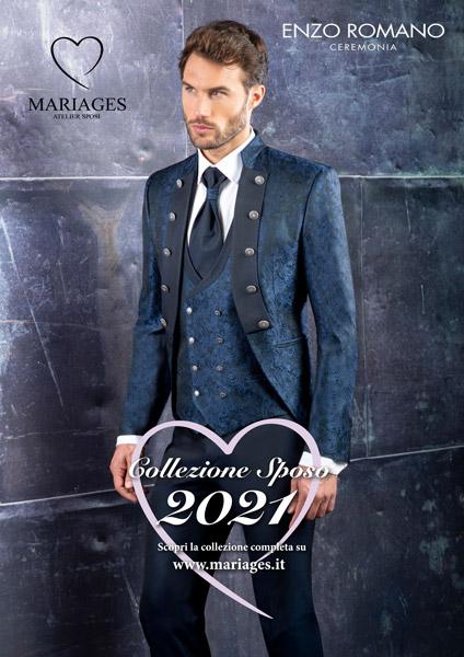 Catalogo abiti sposo 2021 Mariages Vicenza