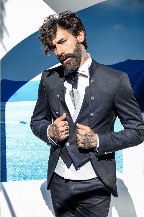 Abito vestito da sposo Petrelli 2021 a Vicenza F50005B