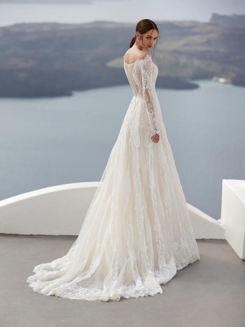 Jolies 2022 abito vestito sposa Vicenza Laysan