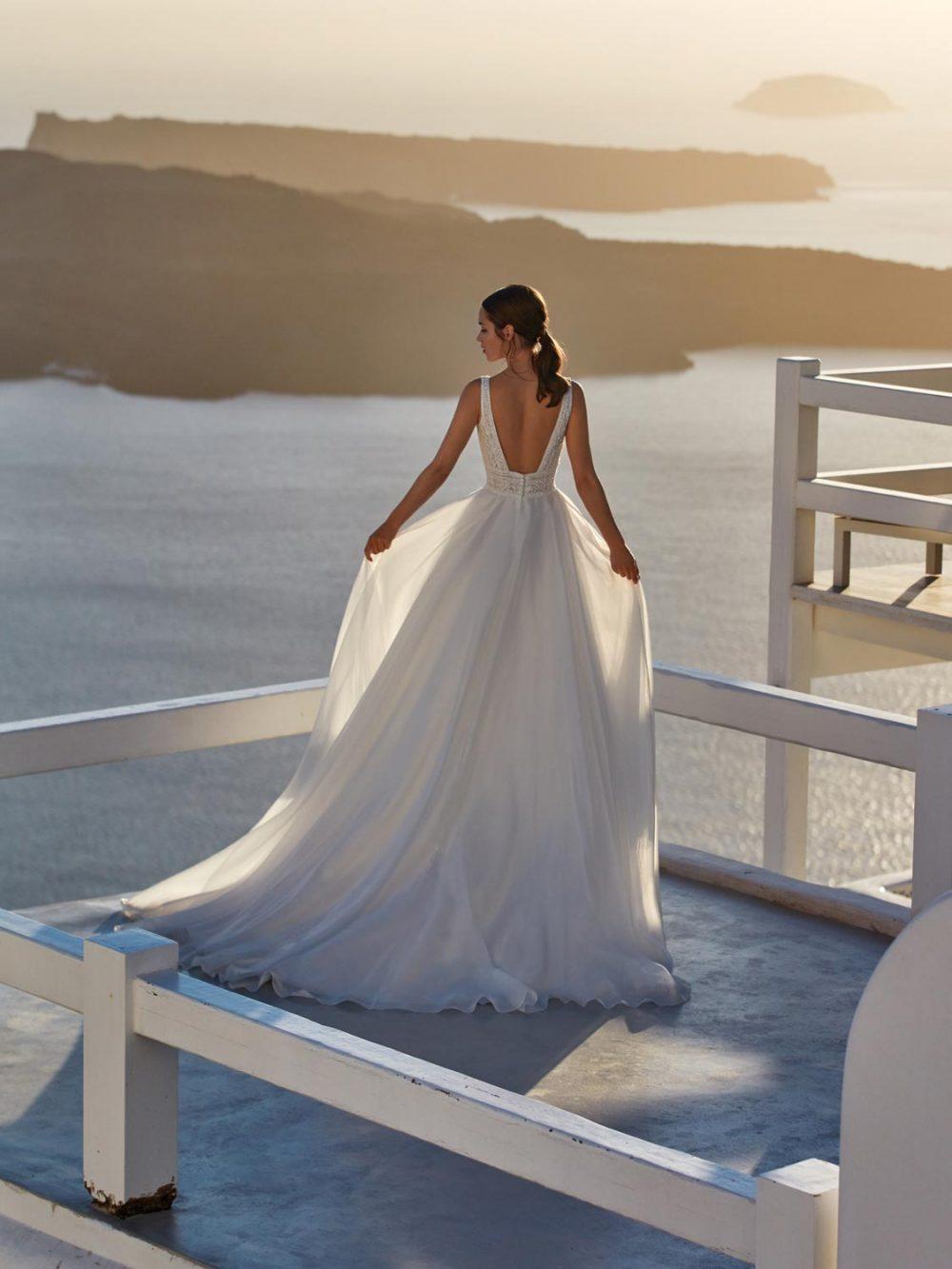 Jolies 2022 abito vestito sposa Vicenza NISIDA