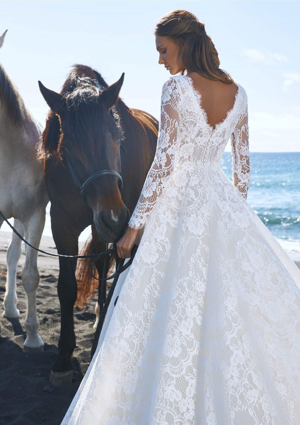 Pronovias 2022 abito vestito sposa Vicenza MINGSHA