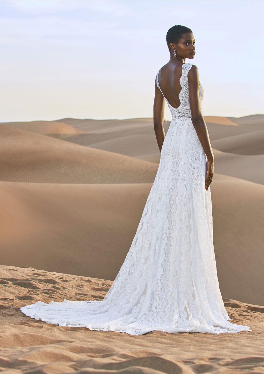 Pronovias 2022 abito vestito sposa Vicenza NAMIB