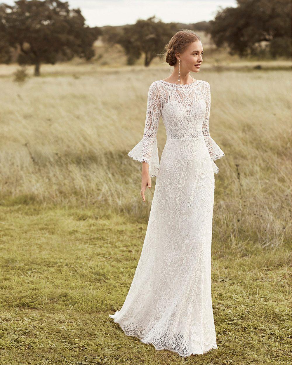 Rosa Clarà 2022 abito vestito sposa Vicenza AZALEA
