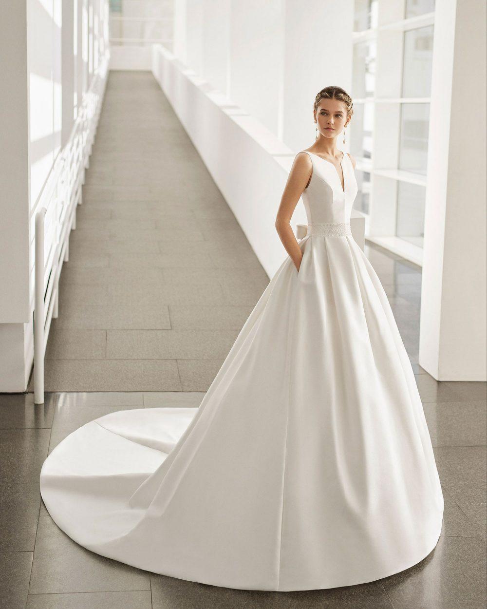 Rosa Clarà 2022 abito vestito sposa Vicenza NAGANO