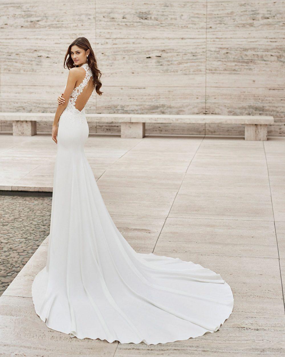 Rosa Clarà 2022 abito vestito sposa Vicenza NASH