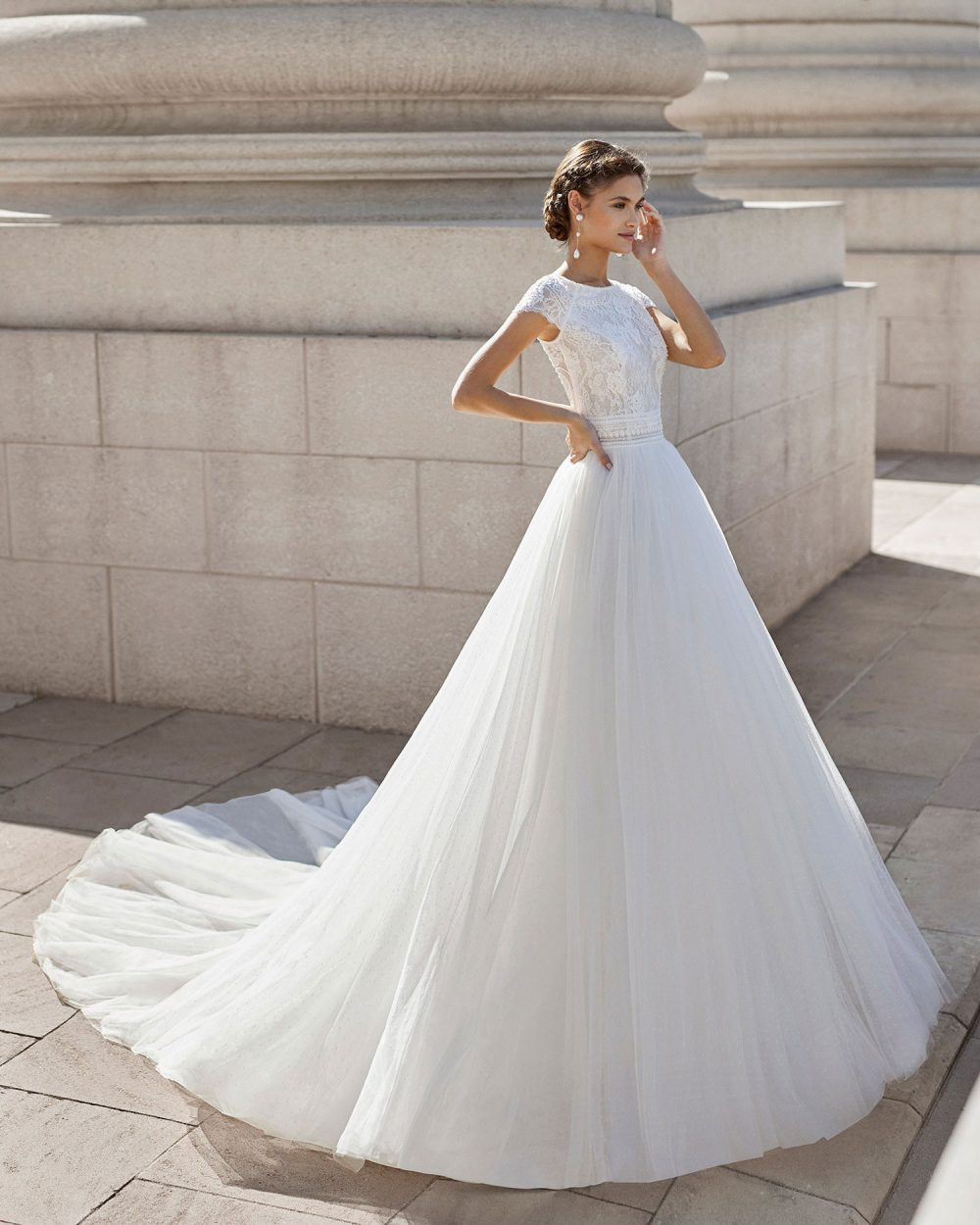 Rosa Clarà 2022 abito vestito sposa Vicenza NISH