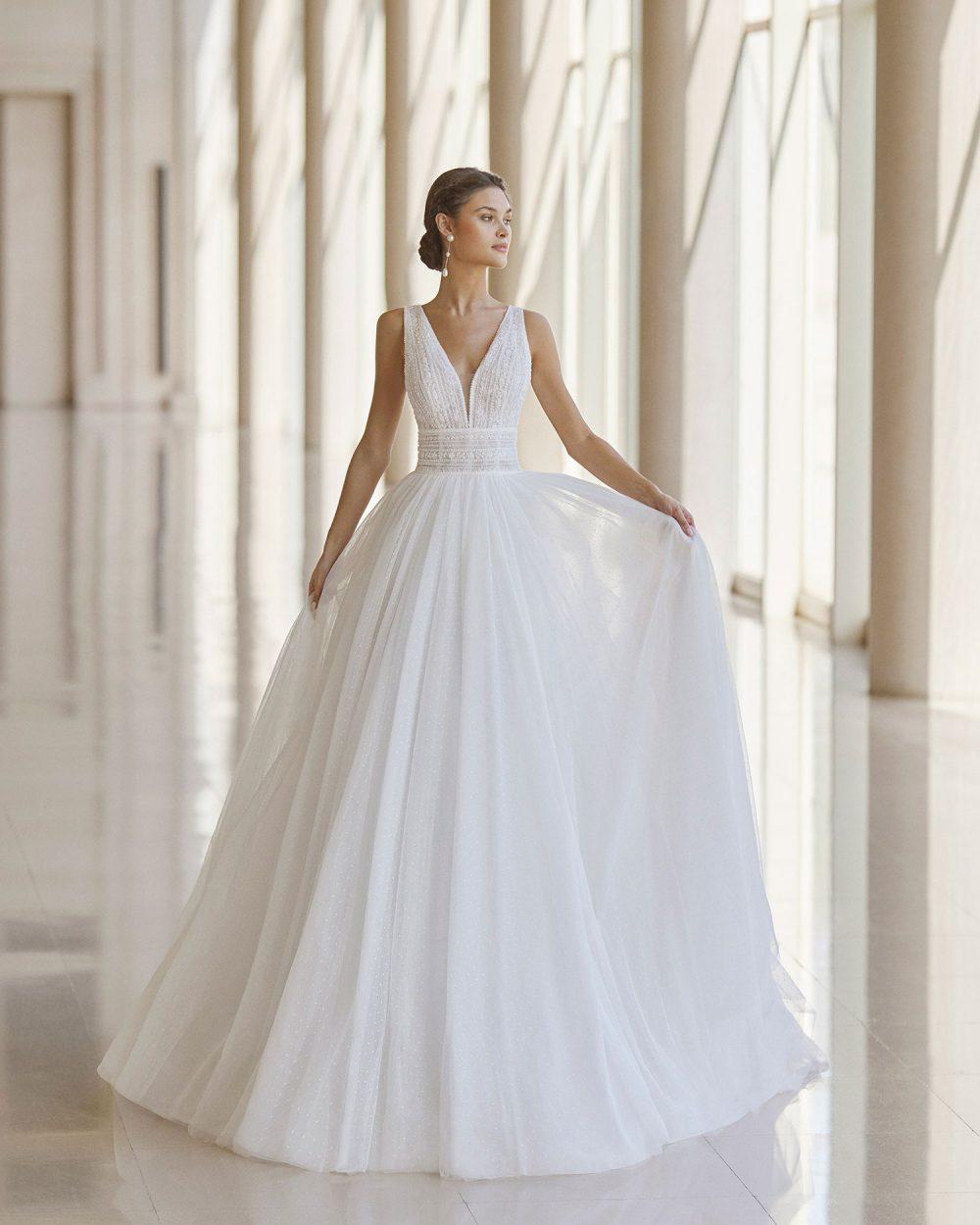 Rosa Clarà 2022 abito vestito sposa Vicenza NISSA
