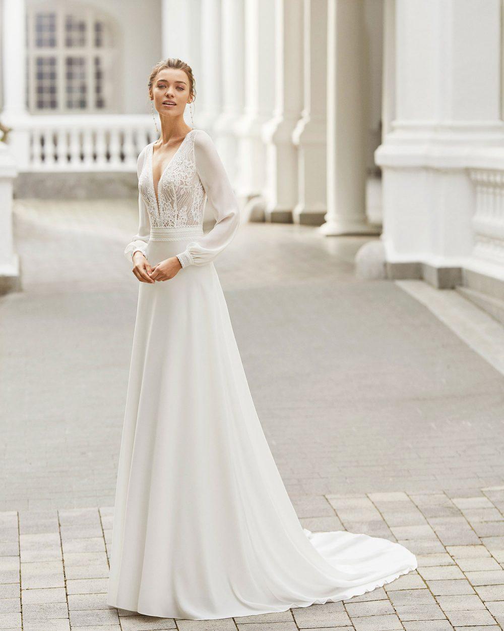 Rosa Clarà 2022 abito vestito sposa Vicenza SACHA