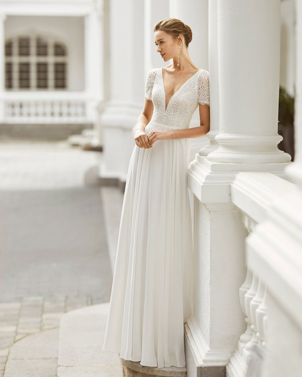 Rosa Clarà 2022 abito vestito sposa Vicenza SADY