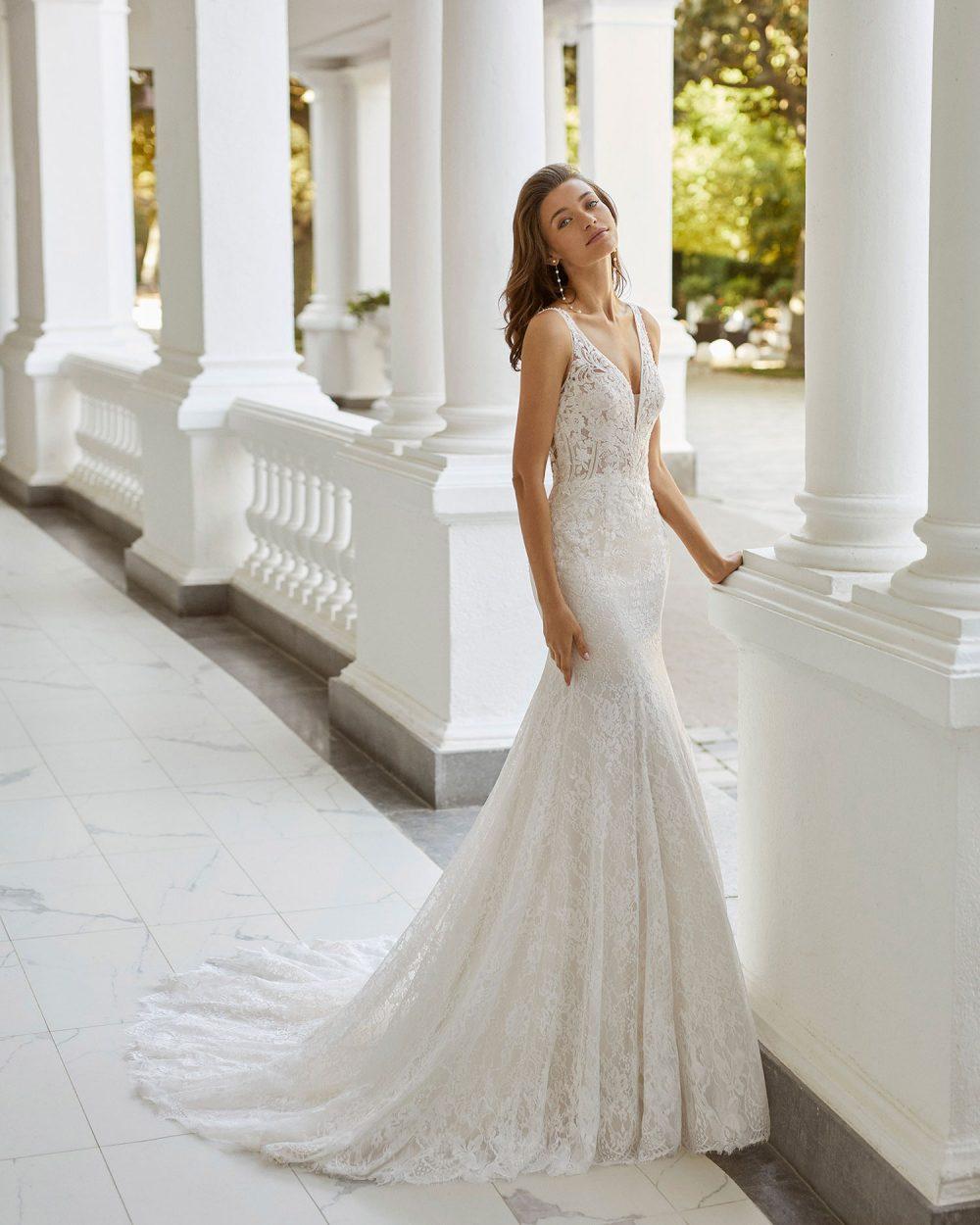 Rosa Clarà 2022 abito vestito sposa Vicenza SAONA