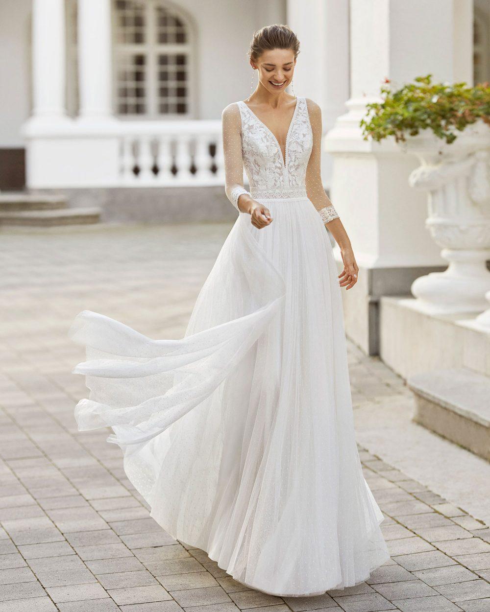 Rosa Clarà 2022 abito vestito sposa Vicenza SARY