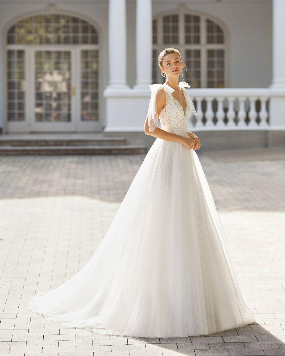 Rosa Clarà 2022 abito vestito sposa Vicenza SELYS