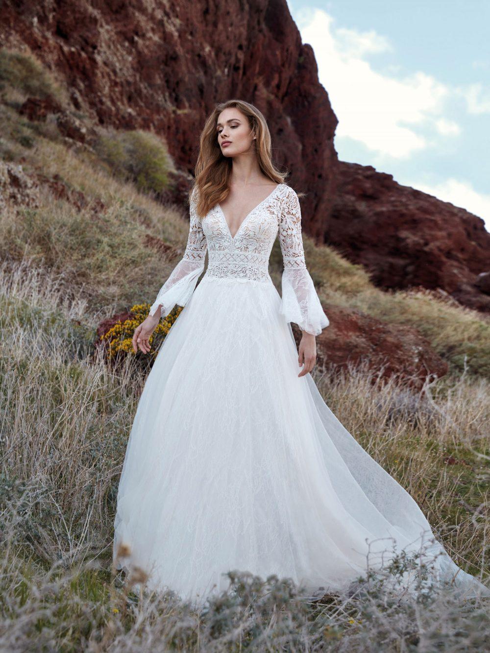 Nicole 2022 abito vestito sposa Vicenza ARMONIA