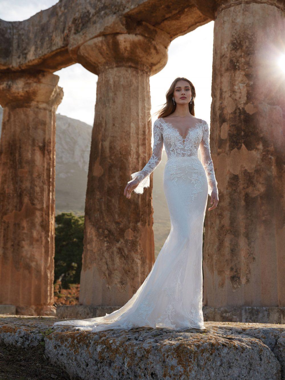 Nicole 2022 abito vestito sposa Vicenza ECATE