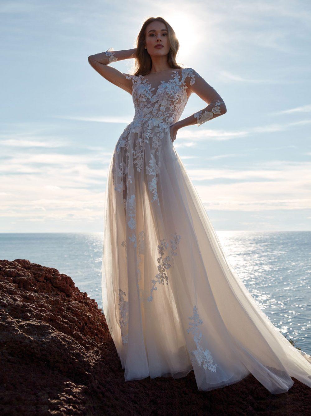Nicole 2022 abito vestito sposa Vicenza FEBE