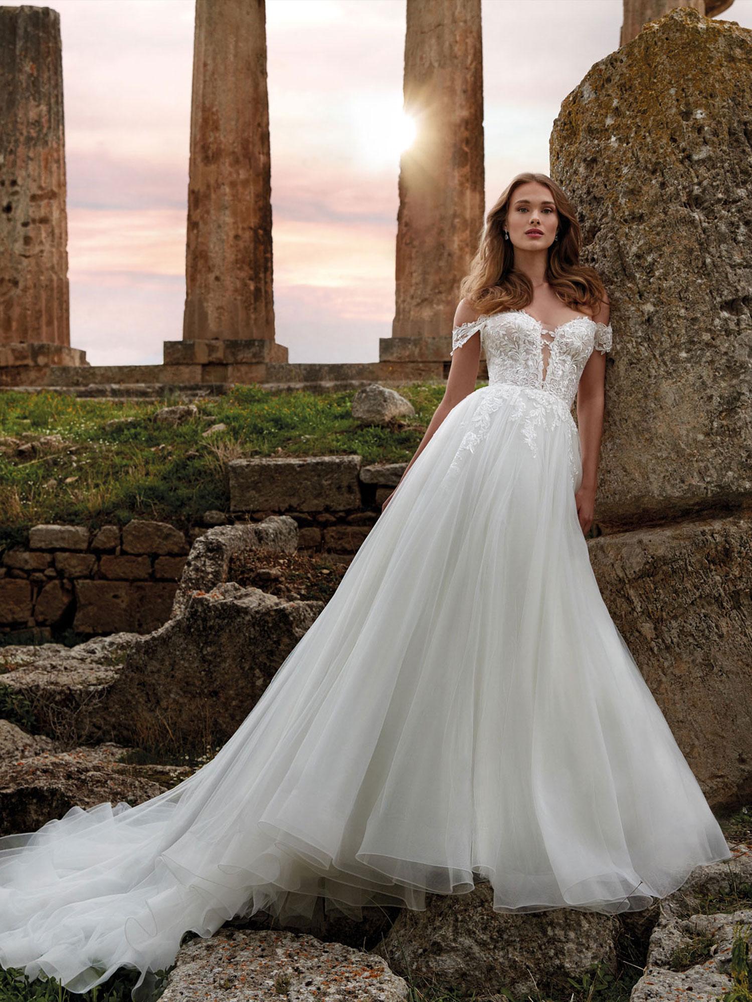 Nicole 2022 abito vestito sposa Vicenza IRIDE