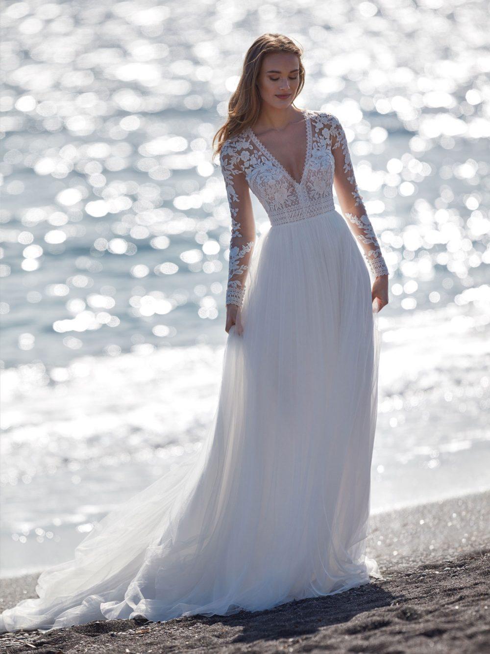 Nicole 2022 abito vestito sposa Vicenza JUMALA