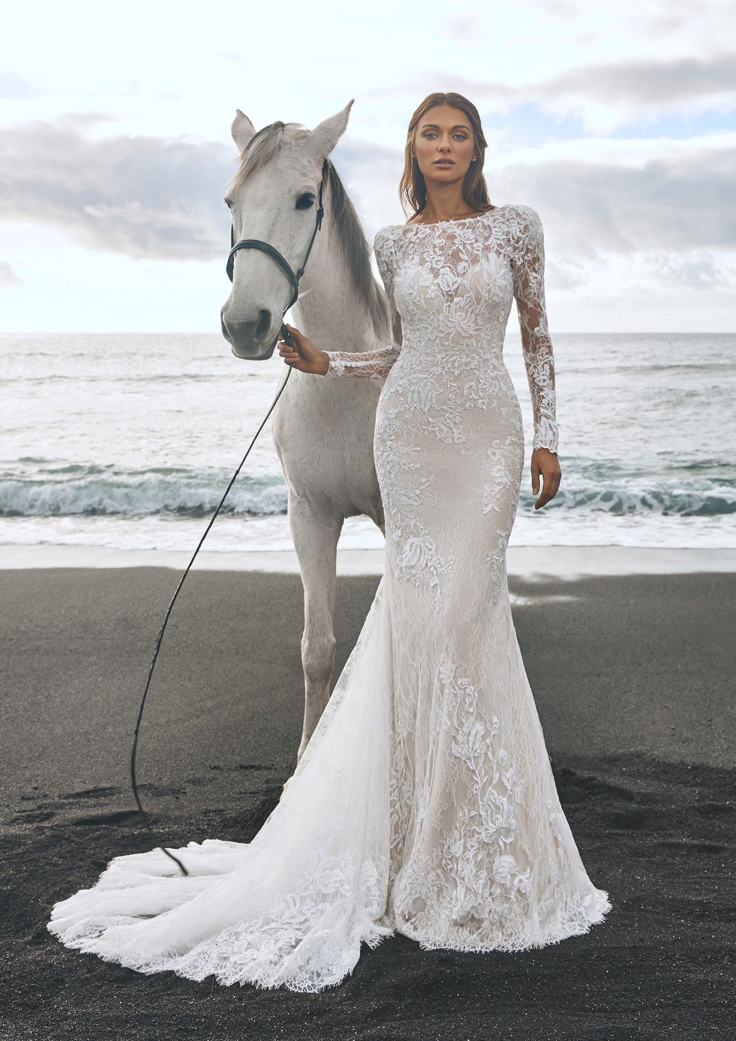Pronovias 2022 abito vestito sposa Vicenza PANJIN