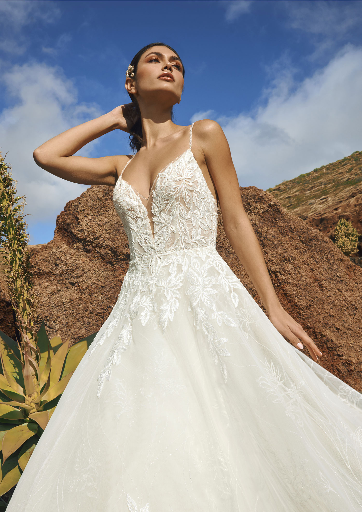 Pronovias 2022 abito vestito sposa Vicenza Socotra