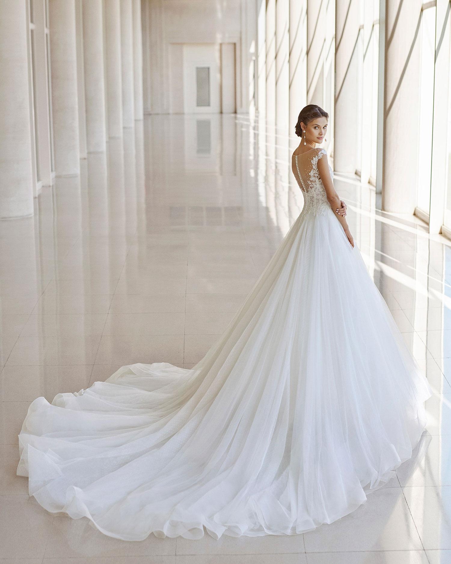 Rosa Clarà 2022 abito vestito sposa Vicenza NICETA