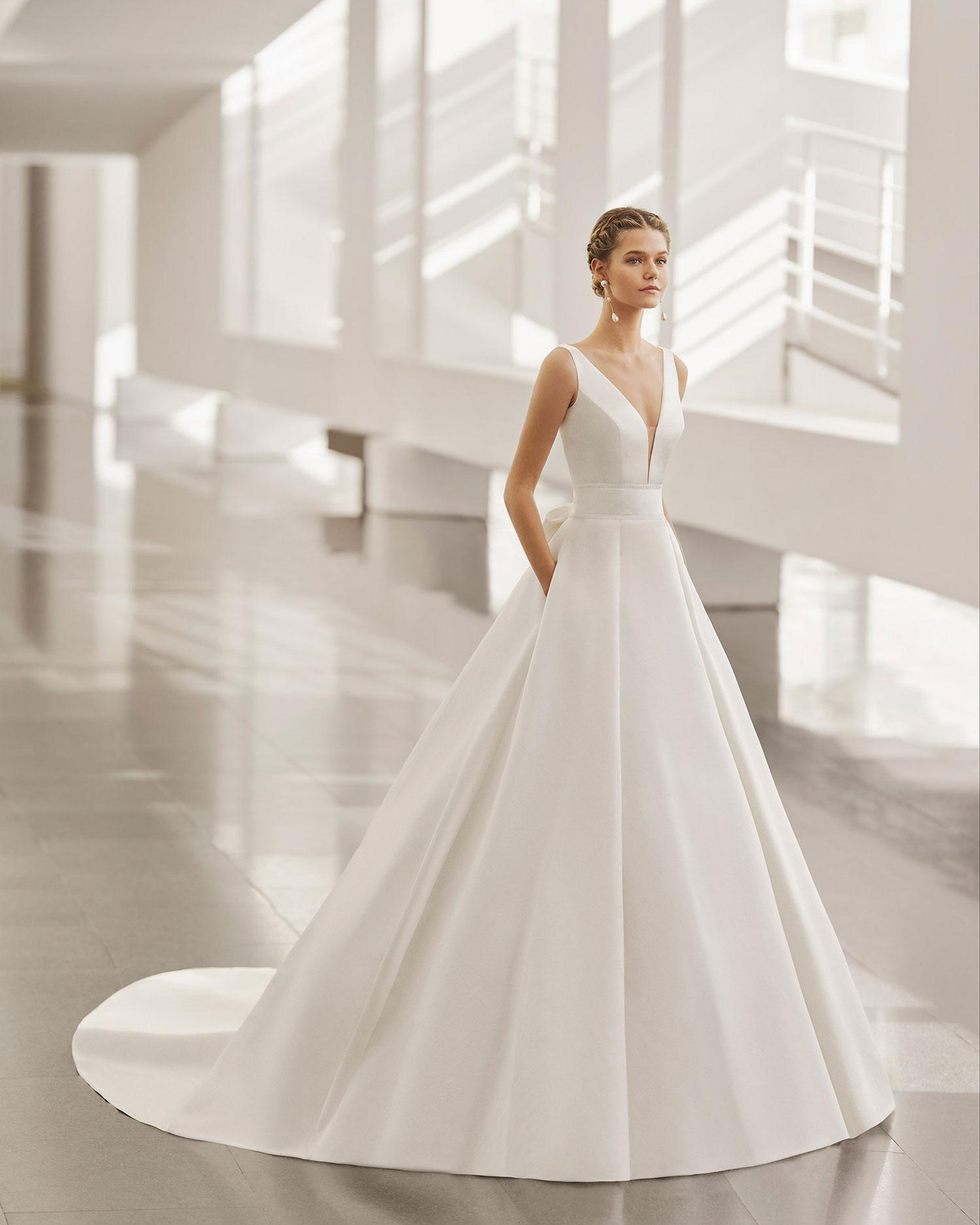 Rosa Clarà 2022 abito vestito sposa Vicenza NORAY