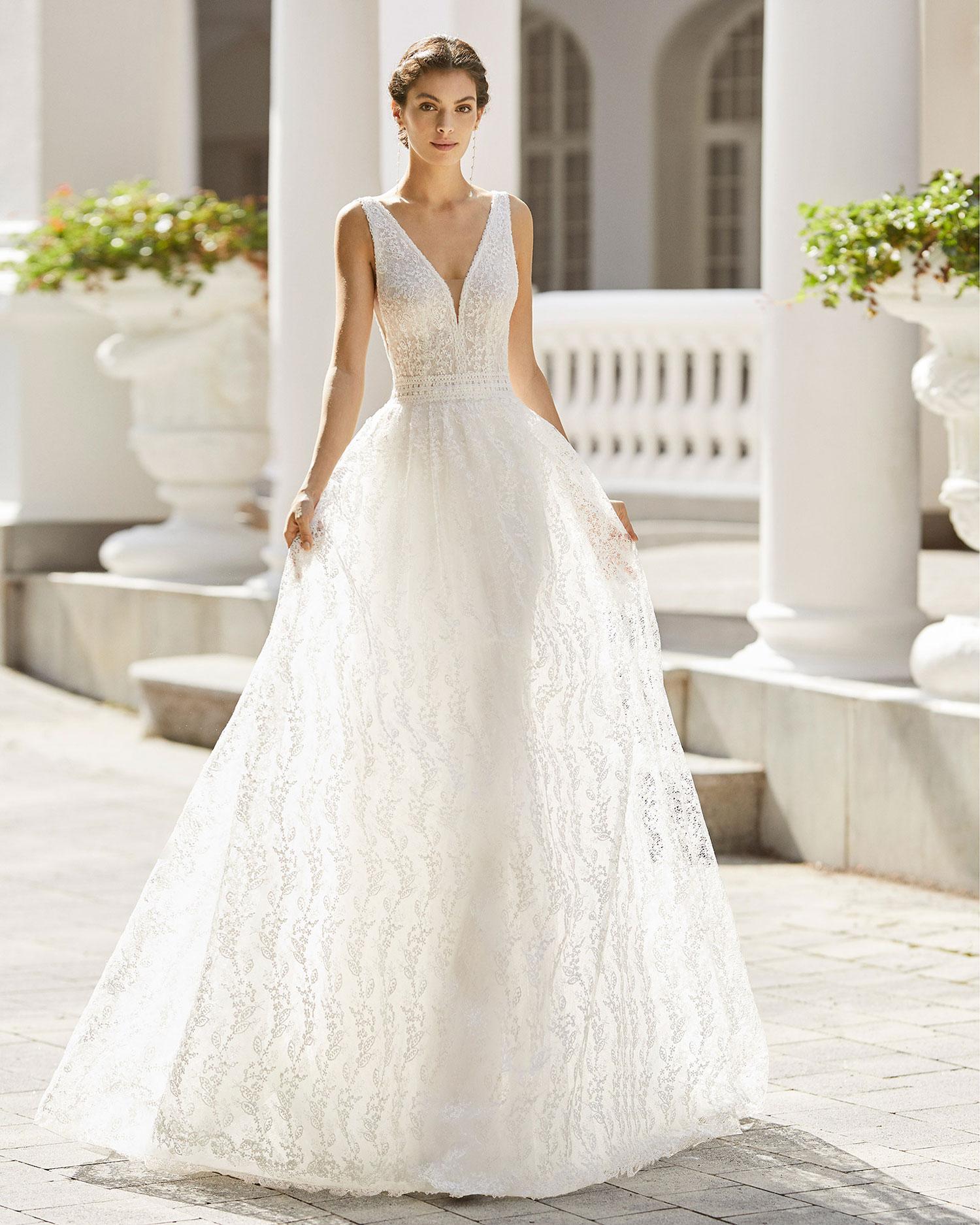 Rosa Clarà 2022 abito vestito sposa Vicenza SANSY