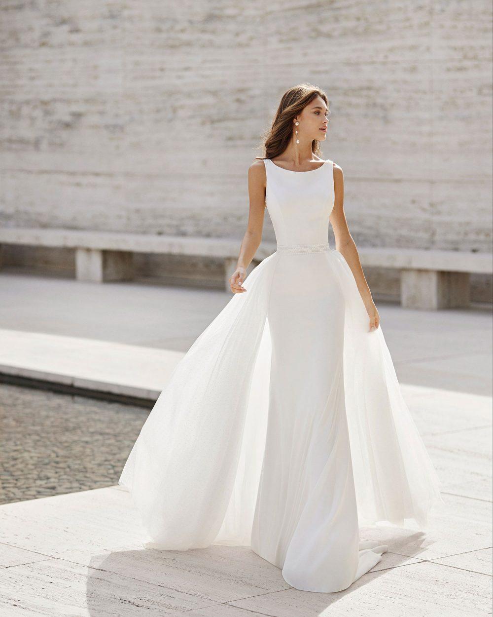 Rosa Clarà 2022 abito vestito sposa Vicenza NAKUNE