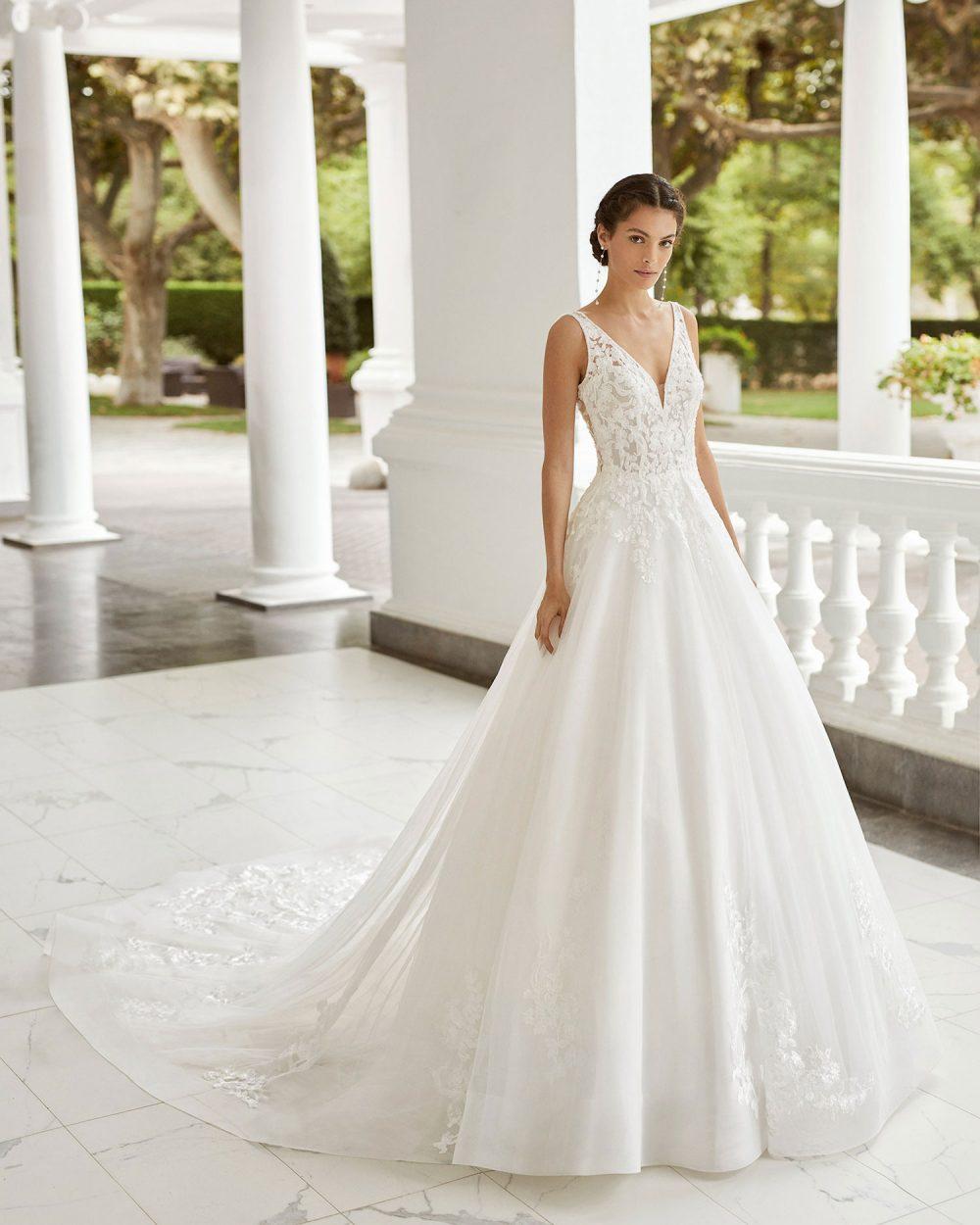Rosa Clarà 2022 abito vestito sposa Vicenza SIONA
