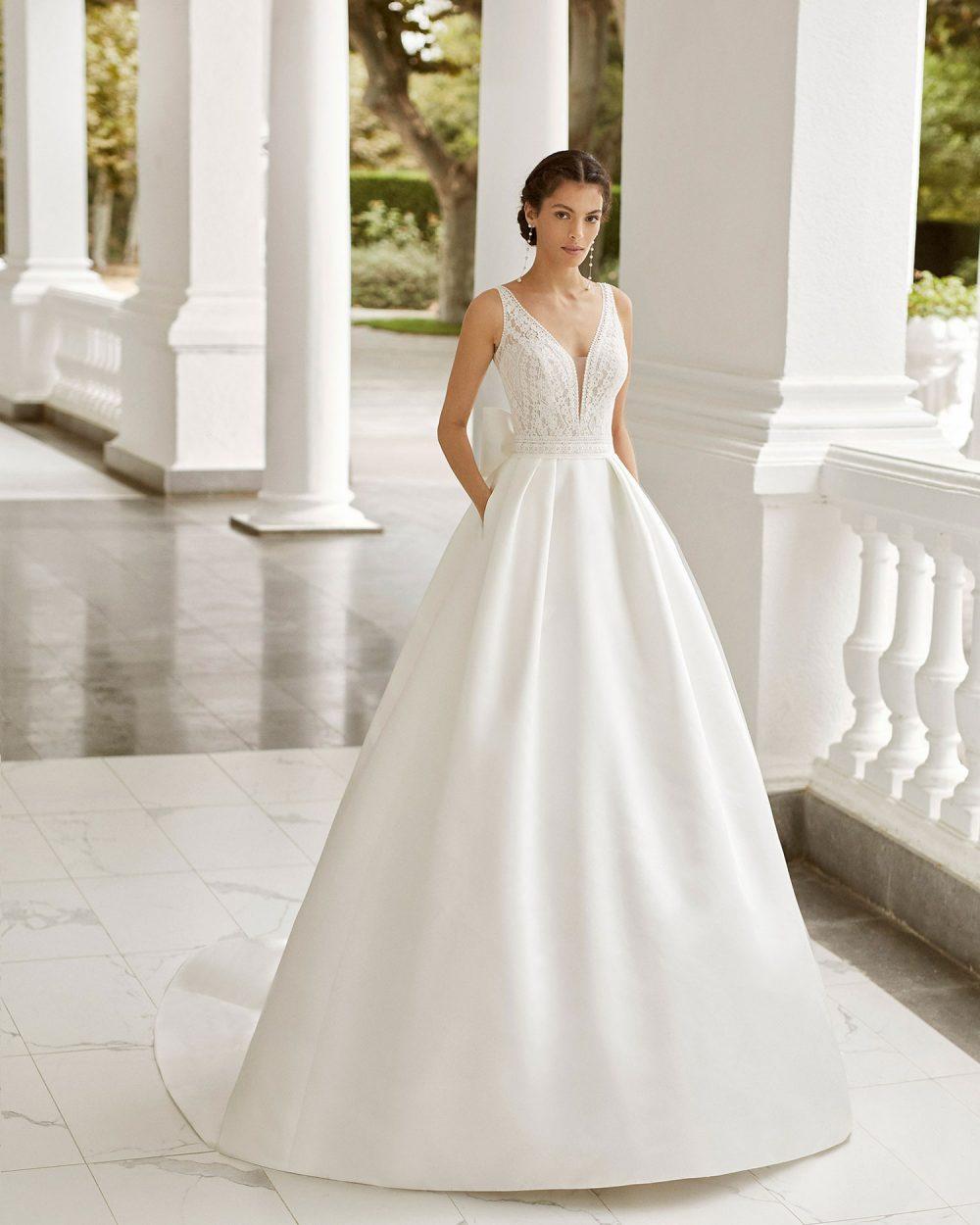 Rosa Clarà 2022 abito vestito sposa Vicenza SORAYA