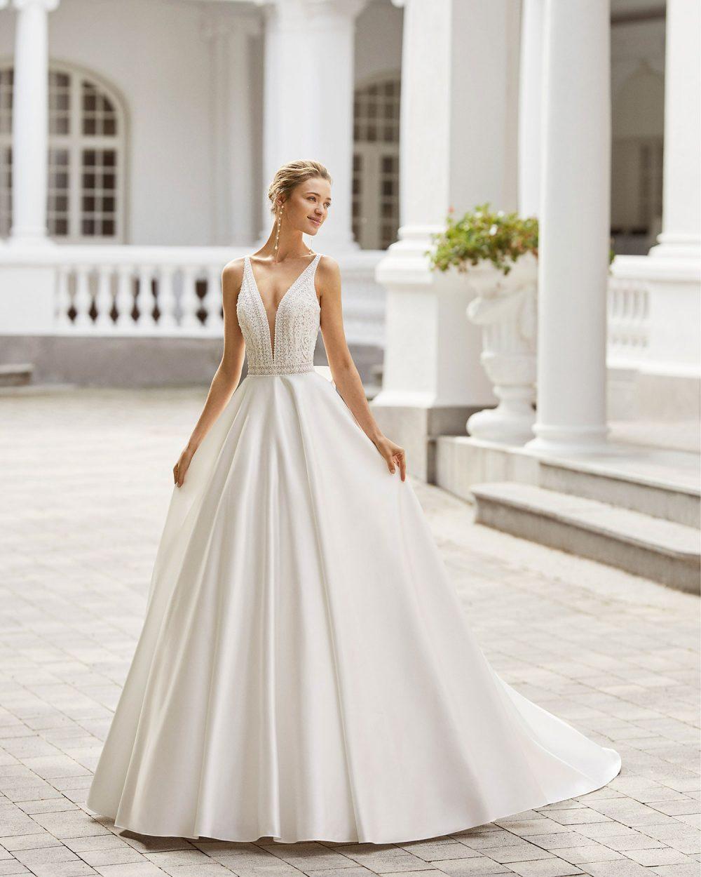 Rosa Clarà 2022 abito vestito sposa Vicenza SUMMER